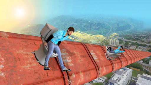 Impossible Mega Ramp Stunts 3D android2mod screenshots 8