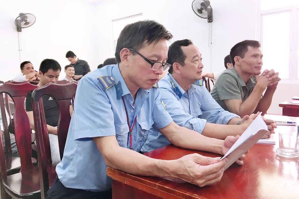 Lực lượng PCCC cơ sở nghiên cứu tài liệu về công tác PCCC&CNCH