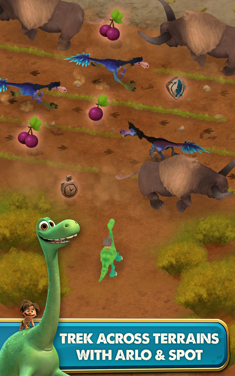Good Dinosaur: Dino Crossing screenshot #8