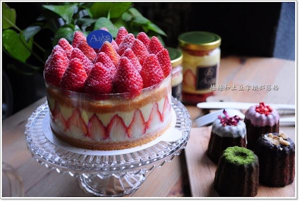 艾樂比手作烘焙坊。滿滿草莓爆餡法式蛋糕X外酥內軟可麗露。草莓控秒殺款。