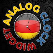 German Analog HD Clock Widget