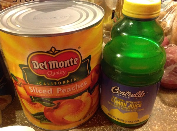 I would prefer using fresh or frozen peaches but during the off season I...