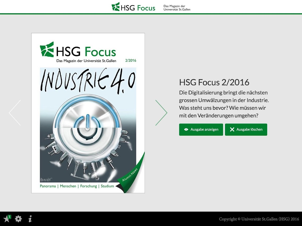 HSG Focus- screenshot