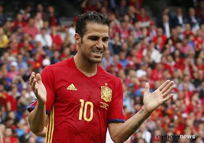 Geen Fábregas op het WK voor Spanje