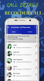 Call Recorder Automatic 2018 - náhled
