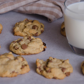 Vanilla Pudding Walnut and Chocolate Chip Cookies