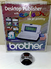 Photo: Desktop Publisher with Colour Ink jet printing Brother DP-530CJ (has games) Philips eXpanium Music+Game  CD/MP3 player