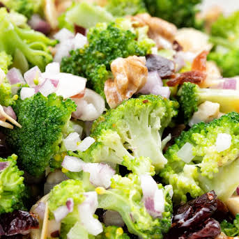 Broccoli Salad Recipe With Yoghurt