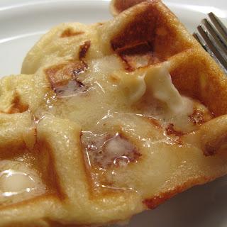 Apple Waffles.