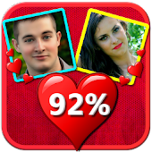 Love Calculator : match by name, photo,fingerprint