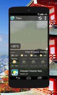 Animated Weather Widget, Clock screenshot 06