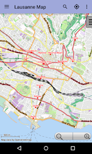 Lausanne Offline City Map Android Apps on Google Play