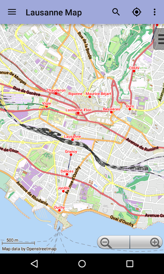 Lausanne Offline City Map Android Apps On Google Play - Lausanne city map