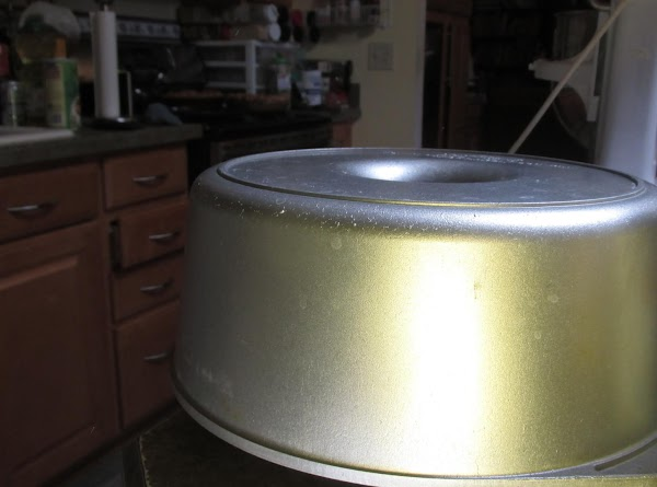 Preheat oven to 325 degrees F. This is the Bundt pan I used. A...