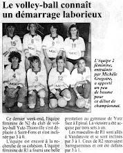 Photo: Equipe Régionale 1 féminine