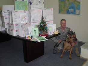 Photo: Servicemembers of the Minnesota National Guard's Duluth-based 148th Fighter Wing and 114th Transportation Company, currently serving in Afghanistan, received dozens of gift boxes donated by Minnesota school children and other supporters this December.
