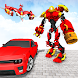 Drone Robot Car Shooting - Transform Robot Games - Androidアプリ