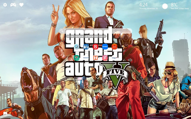 Gta 5 New Tab Wallpapers Hd Backgrounds