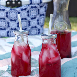 Mixed Berry Mint Lemonade.