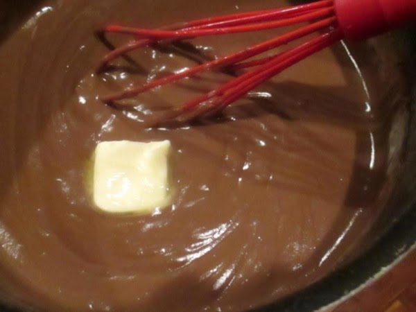 Place the saucepan on the stove over medium heat. Cook, whisking constantly, until mixture...