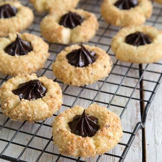 Chocolate Hazelnut Thumbprint Cookies Recipe