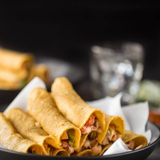 Vegetable and Chicken Taquitos
