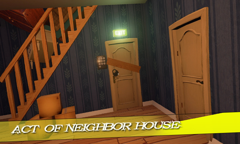 Download New hide & Secret Neighbor Alpha series Walktrough APK