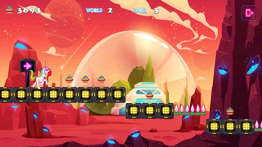 Unicorn Dash Neon Lights: Unicorn Games screenshots 2