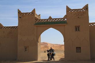 Photo: The Erg Chebi sand dunes