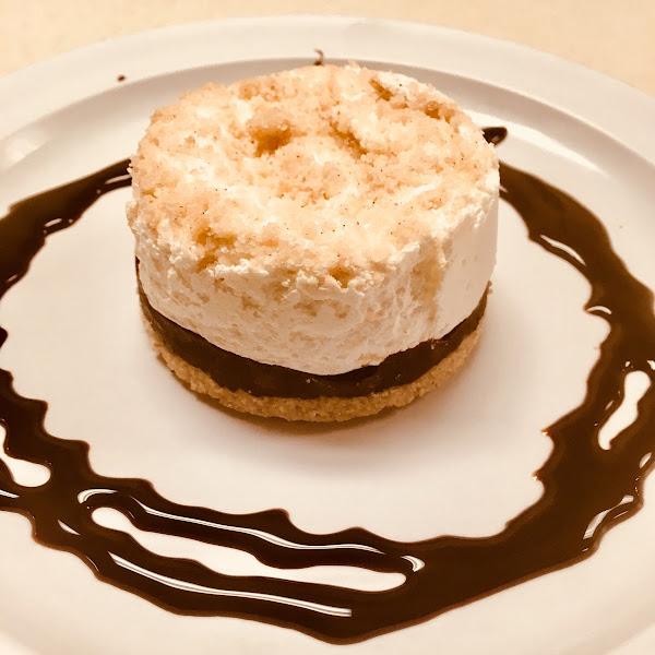Gluten Free s'mores dessert.