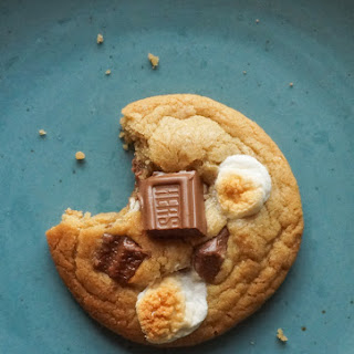 Brown Butter S'more Cookies