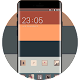Abstract Theme For Line Red Orange Gray Blue icon