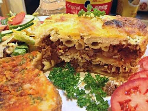 "Recycled Meal - Penne Pasta Lasagna""This dinner idea came about at my..."