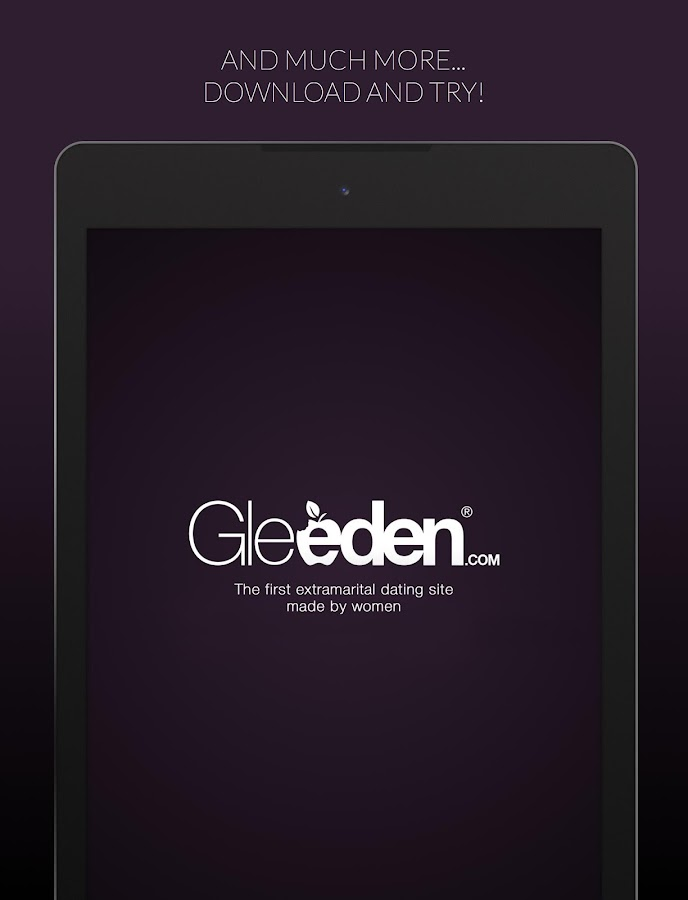 Gleeden - screenshot