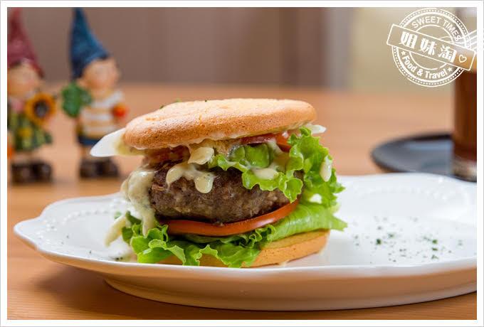 客萊絲鐵板燒生酮漢堡
