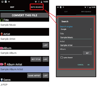 TK Music Tag Editor screenshot 19
