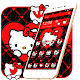 Cute Red Kitty Theme Download on Windows