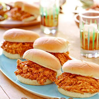 Pulled Barbecue Chicken Sandwiches