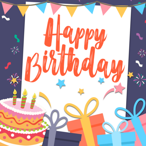 Happy Birthday Greeting Cards – Photo Frames
