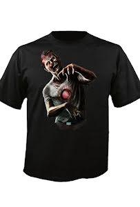Digital Dudz t-shirt, zombie hjärta