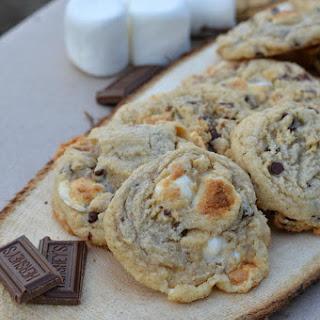 Ooey Gooey S'mores Cookies & DIY S'mores Bar (Gluten-Free)