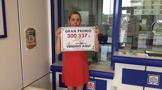 La Bonoloto deja en Las Norias más de 300.000 euros