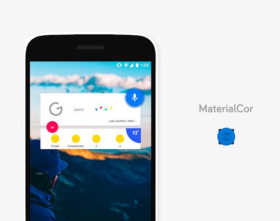 MaterialCor for Zooper v1.8