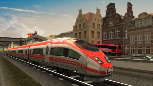 Euro Train Racing 2018 1.4 screenshots 9