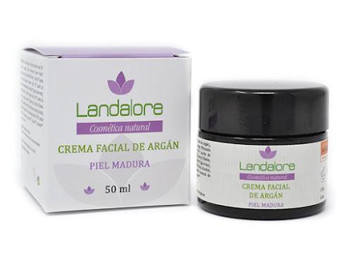 Crema Facial Natural Argán Landalore