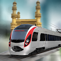 Hyderabad Metro Train Driving icon