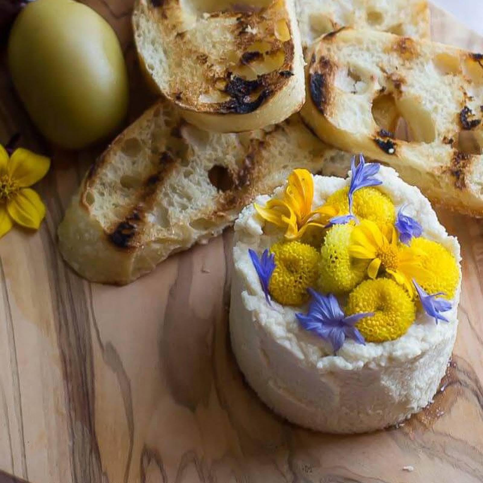 Macadamia 'Goat' Cheese [Vegan, Grain-Free]