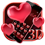 3D Red Love Heart Theme file APK Free for PC, smart TV Download