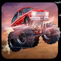Mountain Climb Racing : Monster Truck Games icon