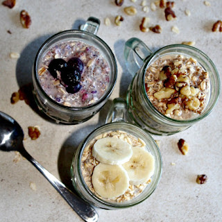 Overnight Oats Three Ways.